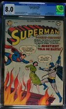 Superman #76 - DC Comics 5-6/52 - CGC 8.0 - OW Pages - Golden Age