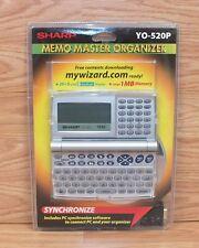 Sharp (YO-520P) Synchronize Memo Master Organizer w/ Back Light Display **NEW**