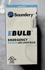 NIP Boundery EBULB Emergency Power Rechargeable LED Light Bulb 9W / 60W Outage