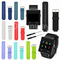 Replacement Watch Band Wristband Strap w/Tools for Garmin Vivoactive Smartwatch