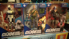 Hasbro G.I. Joe Classified Series Lot w/ Snake Eyes & 5 others