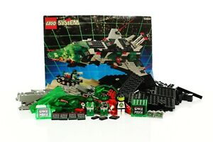 Lego Space Police II Set 6984 Galactic Mediator 100% complete +instructions 1992