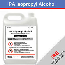 ⭐️CHEAPEST ON EBAY MEGA SALE 5 LITRE PURE 99.9% ISOPROPYL ALCOHOL⭐️