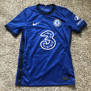 Nike Chelsea FC 2020-2021 Home Soccer Jersey, Youth Medium, New without tags