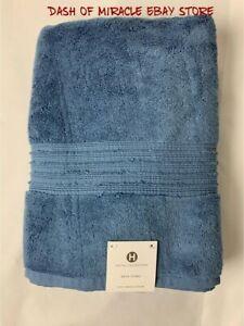 NEW Hotel Collection Turkish Cotton Bath Towel BLUE