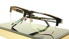 739cf703b71 ZILLI Eyeglasses Frame Acetate Titanium Black Gold France Made ZI 60005 C01  341