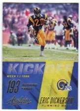 2017 Panini Absolute Kickoff Retail Version #11 Eric Dickerson LA Rams
