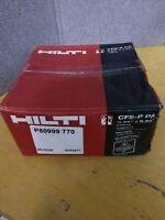 """2 Cases of HIlti 2082246 FS putty pads CFS-P PA 9-1/4"""" x 9-1/4"""" firestop"""