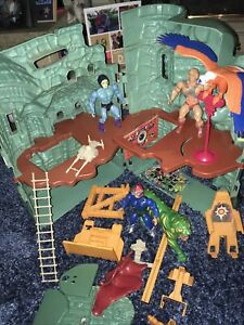 Vintage 1980s He-man  Castle Grayskull and Spares Lot Original See Pictures