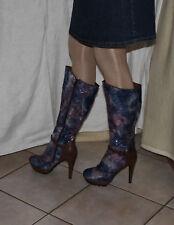 Sexy High Heel Plateaustiefel Gr.EUR 41/42