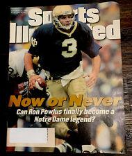Sports Illustrated September 23 1996 Ron Powlus Notre Dame Football
