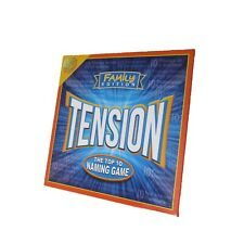 Tension Family Edition Board Game Guess The List Before Time Runs Out M899