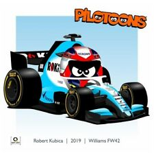 Print on Canvas Williams FW42 2019 #88 Robert Kubica (POL) by BM