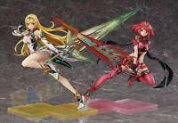 "Nuevo Xenoblade Chronicles 2 Mythra Hikari & Pyra Homura PVC Figure Model 8 """