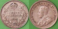 1918 Canada Silver Nickel Graded as Very Fine