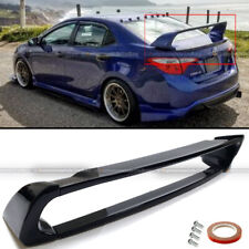 For 14-18 Toyota Corolla E170 ABS Gloss Black Mugen Style Trunk Wing Spoiler