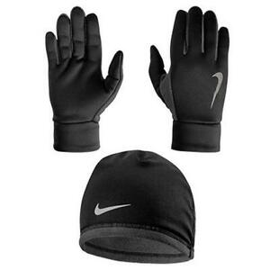 Nike Men's Running Thermal Beanie & Glove Set Large L/XL Extra nwt