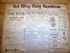 1901 newspaper ANTI-JEWISH Rhetoric in CHICAGO Illinois US Anti-Semitism JUDAICA