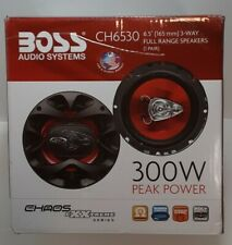 Boss CH6530 6.5 3-Way Full Range 300W Speakers