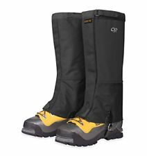 NEW Outdoor Research Mens Expedition Crocodiles Gaiters Black Large