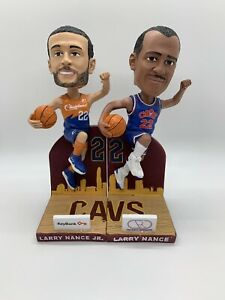 Larry Nance Jr & Sr Cleveland Cavaliers Collectible Bobblehead Set WITH BOXES