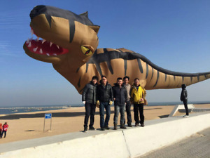 2021 Dinosaur Kite Pendant Large Giant Inflatable Kite Line Adult Hot New