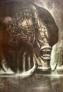 HR Giger Alien Prometheus Necronom IIIa 1976 Heliogravure very rare!