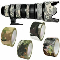 10m Tarnband Klebeband Gewebeband Camo Camouflage Army Tape IsolierbandDuct H1T8