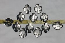 Slotted Western Thunderbird Silver Crafts Leathercrafts Conchos 1 1/2 inch/12pc