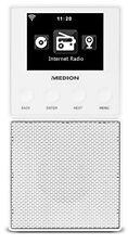 MEDION MD 87248 Steckdosen Internetradio Bluetooth Weiß.