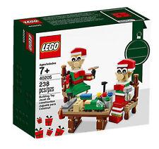 LEGO 2016 Seasonal Exclusive Holiday Elves' Workshop 40205 Santa Christmas NEW