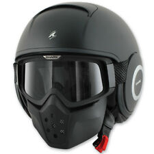 Shark Raw Blank Motorcycle Helmet Matte Black size Adult XSmall Extra Small