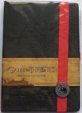 Game of Thrones Targaryen Textured Hardcover Writing Journal Notebook Licensed