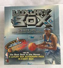 2004-05 Topps Luxury Box Basketball Hobby Box Factory Sealed