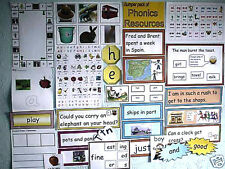 JOLLY FANTASTIC! BUMPER SET OF MY VERY GOOD QUALITY PHONICS RESOURCES!