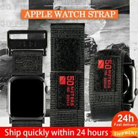 Waterproof Nylon Strap For Apple Watch Bands 5 4 3 2 1 For Iwatch 44 40 42 38mm
