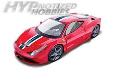 BBURAGO 1:18 FERRARI RACE & PLAY FERRARI 458 SPECIALE DIE-CAST RED 16002