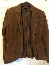 H&M Button Coats & Jackets Cord Blazer for Women