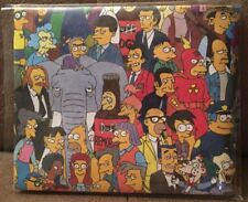 The Simpsons Mighty Wallet Loot Crate Exclusive Bi Fold Paper Wallet NEW