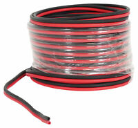 Rockville RED 14G25 OFC 14 Gauge 25 Foot 100% Copper Speaker Wire Car Audio