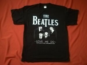 THE BEATLES Love Me Do Shirt Größe XL - NEU