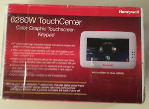 "6280W HONEYWELL SECURITY ADEMCO ALARM TOUCH KEYPAD ""NEW"" OPEN-BOX"