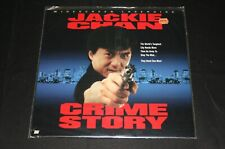 JACKIE CHAN CRIME STORY LaserDisc WIDESCREEN EDITION Open Copy LIKE NEW