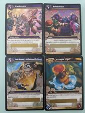 WOW SANDBOX TIGER,Papa Hummel's Pet Biscuit,Slashdance and Paint Bomb Loot Card