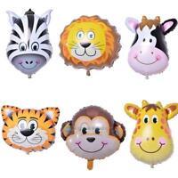 "6pcs 18"" Cartoon Helium Foil Balloons Birthday Wedding Party Decor Children Toys"