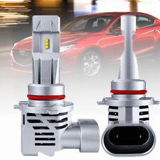 9005 HB3 LED Headlight Kit 55W 15000Lm Bulbs Globe High Beam for Mazda 3 AU