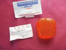 CABOCHON DE CLIGNOTANT NEUF HONDA CB 400N/FT500/XL500R/S 33602-443-611