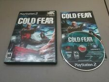 Cold Fear Complete w/ Manual Sony PlayStation 2 PS2 Video Game TESTED GREAT!