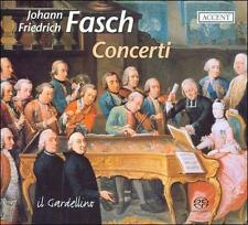 JOHANN FRIEDRICH FASCH: CONCERTI FROM DRESDEN AND DARMSTADT NEW CD