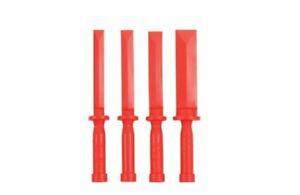 Sonic Plastikabzieher  4-tl. 600422  Schutzleisten Stemmeisen Hebelwerkzeug